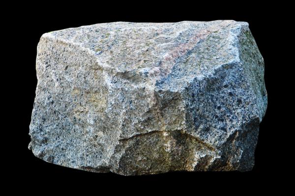 硬いパンチの石